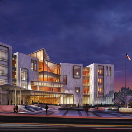 artist rendering of the new court house