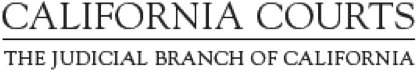 California Courts logo