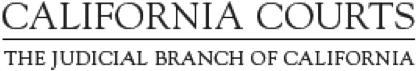 California Courts logo