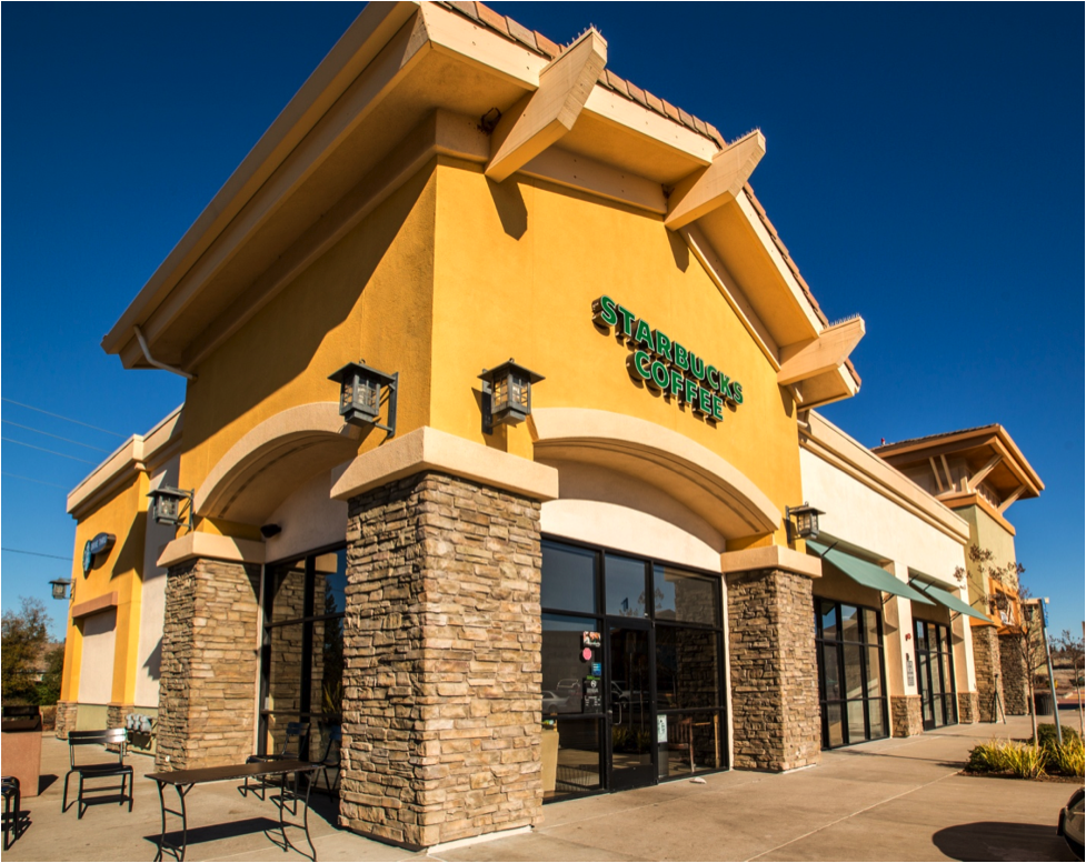 An Image Of A Starbucks